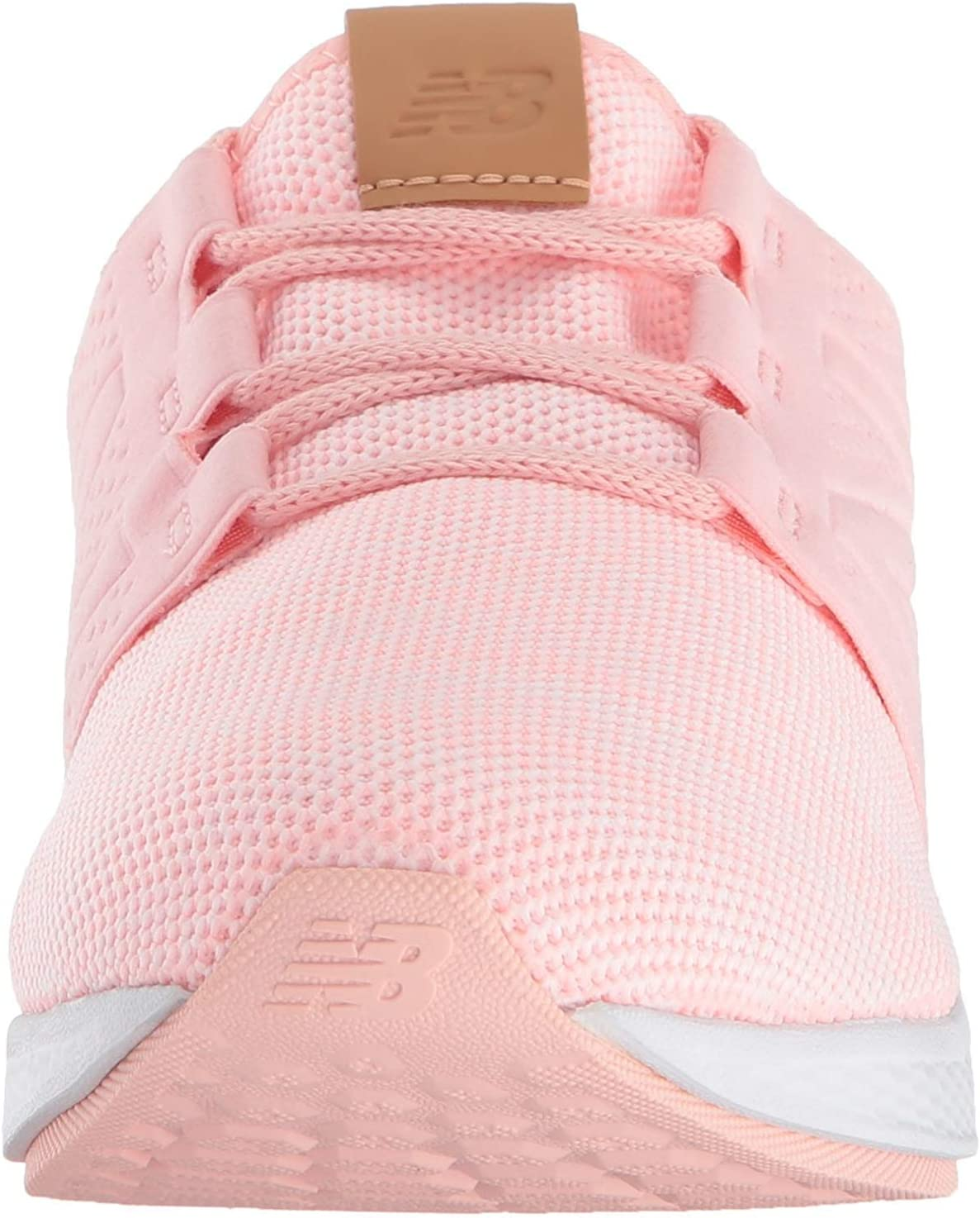 New Balance Girls' Cruz V2 Fresh Foam Running Shoe Himalayan Pink 4.5 M US Big Kid [並行輸入品]