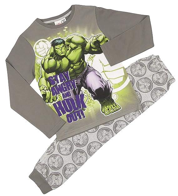 Hulk Pyjamas Night Wear Avengers End Game Lounge Wear Age 7-13 Years