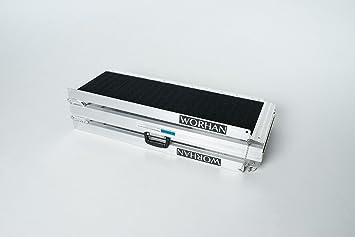 WORHAN® 1.83m Rampa Plegable Carga Silla de Ruedas Discapacitado Movilidad Aluminio Anodizado Modelo de Alta Adherencia 183cm R6J: Amazon.es: Bricolaje y ...