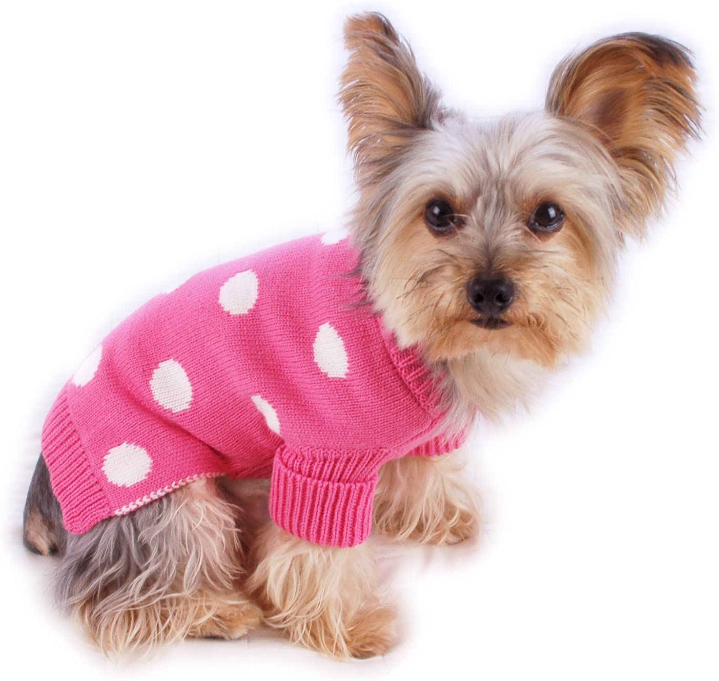 dog clothes Size xs dog clothing Lime green and pink dress XS size