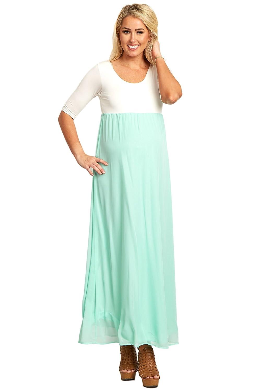PinkBlush Maternity DRESS レディース B01BV7GWLG Small|Mint Green Mint Green Small