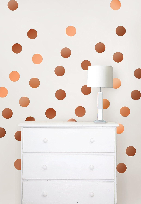 Wall Pops WPD1644 Copper Confetti Dot Decals - - Amazon.com