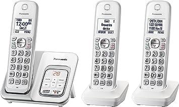Panasonic kx-tgd533 W teléfono inalámbrico con contestador automático – 3 teléfonos inalámbricos (Certificado Reformado): Amazon.es: Electrónica