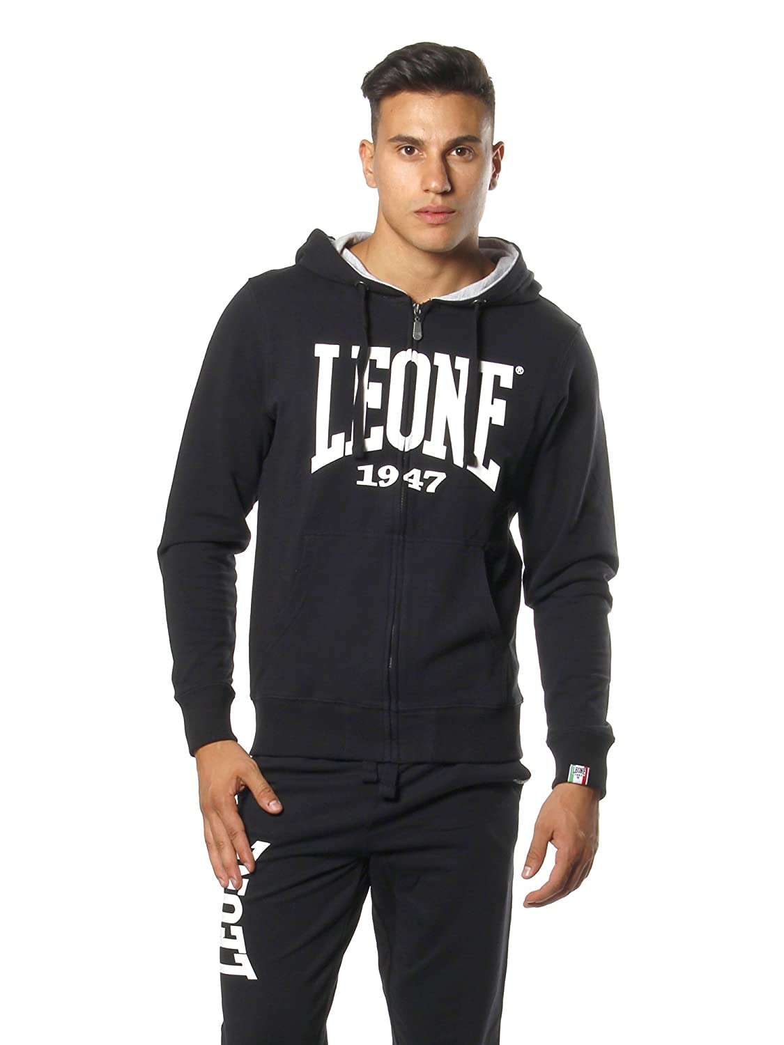 Mens Never Out Stock LEONE 1947/Never Out Stocks Mens Hooded Sweatshirt
