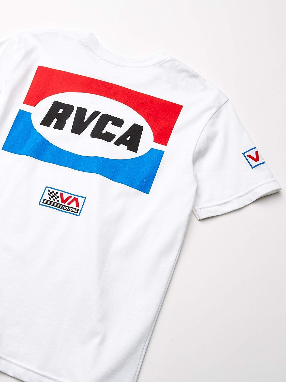 RVCA Boys Big Daytona Short Sleeve Crew Neck T-Shirt