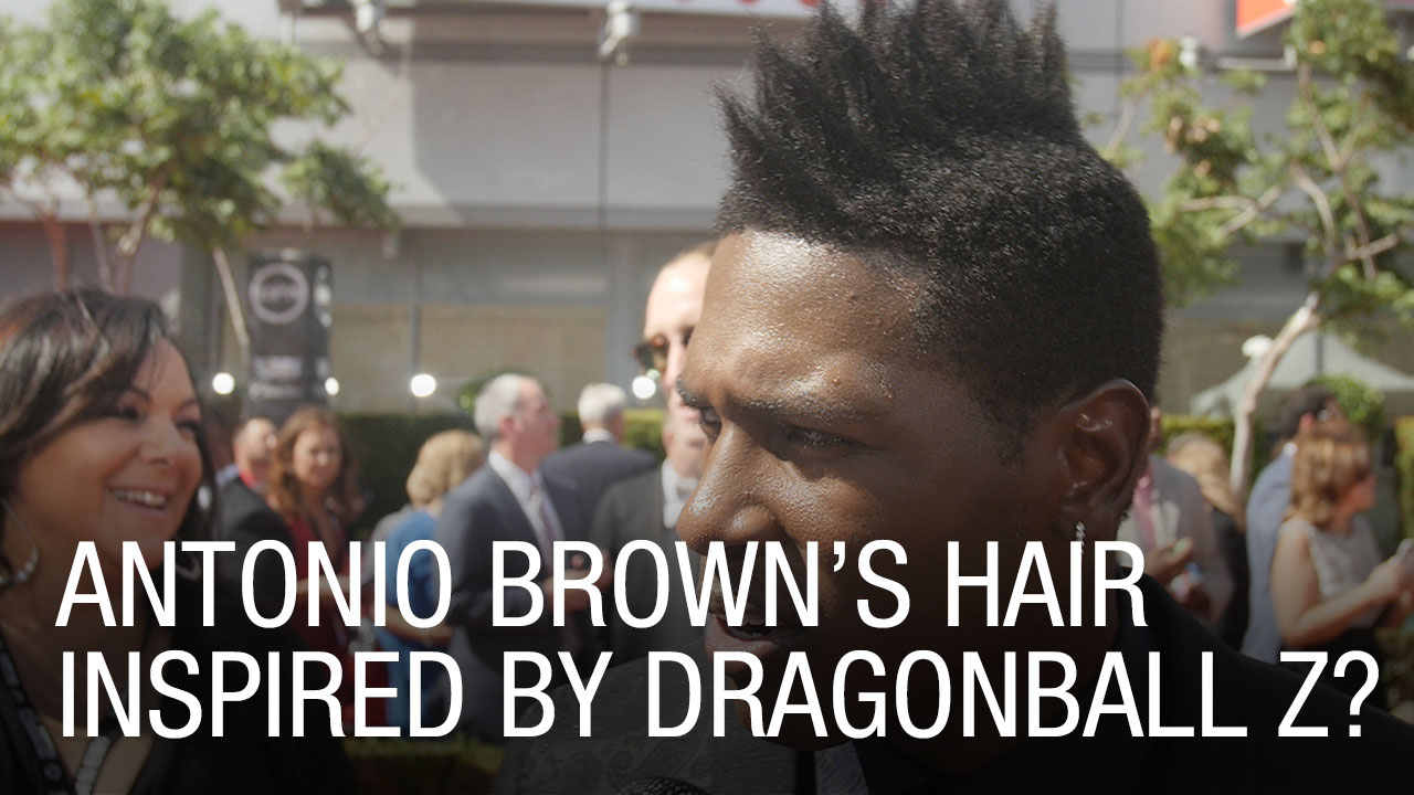 Antonio Browns Hair Inspired By Dragonball Z