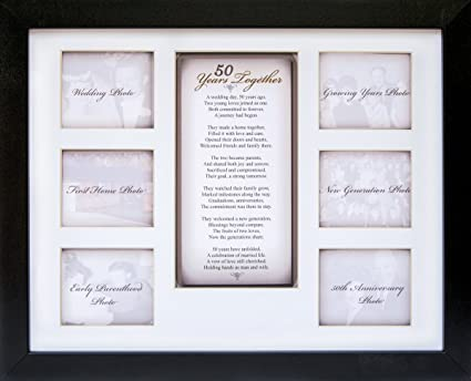 Amazoncom 50th Anniversary Collage Picture Frame 11x14 Photo