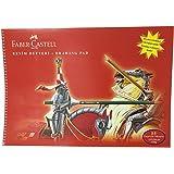 Faber-Castell Karton Kapak Resim Defteri, 35x50 cm, 15 Yaprak