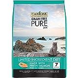 Canidae Grain Free Pure Sea Cat Dry Formula with Fresh Salmon, 10 Lbs