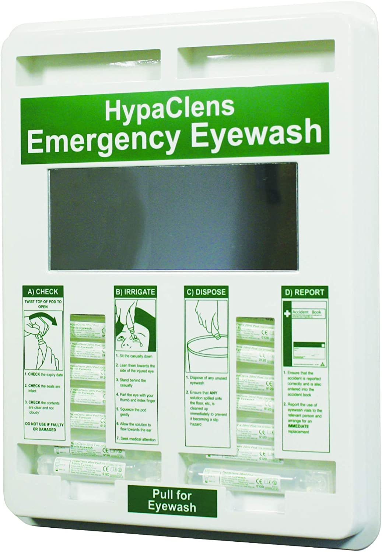 Hypaclens 20ml Eye Wash Ranking TOP10 Dispenser Empty Mirror 35x29cm - with Award