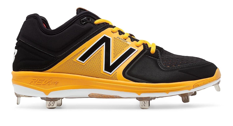 (ニューバランス) New Balance 靴シューズ メンズ野球 Low-Cut 3000v3 Metal Cleat Black with Yellow ブラック イエロー US 12 (30cm) B01J5BQSC8