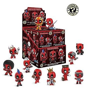 Amazon.com: Funko Marvel Deadpool Mystery Minis – Estuche de ...