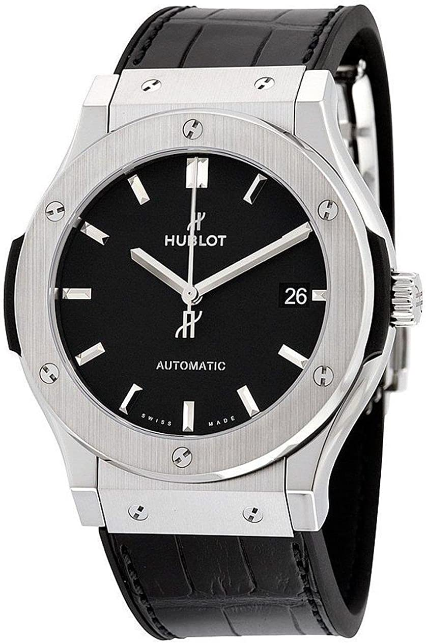 Hublot Classic Fusion - Reloj automático para hombre, esfera negra, 511.NX.1171.LR