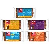 Peaceful Squirrel Variety, GG Scandinavian Crispbread Thins, Pack of 10 (2 of Each: Original, Original with Oat Bran…