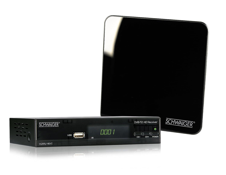 Schwaiger 562 Dvb T2 Receiver Antenne Digitaler Amazonde