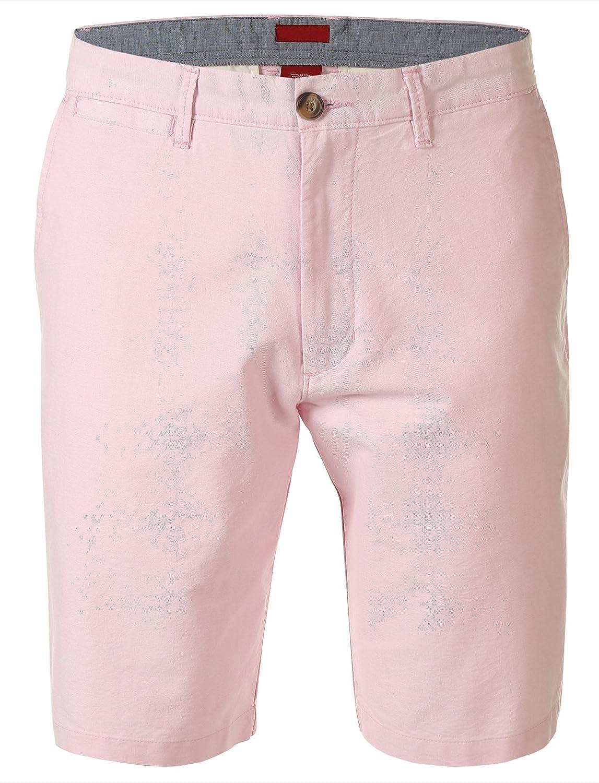 7Encounter Men's Flat Front Casual Shorts