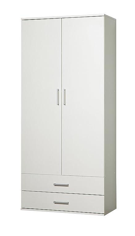 Büroschrank weiß schubladen  WILMES 49100-75 0 75 Schrank Ronny, 2 Türen, 2 Schubladen Dekor ...