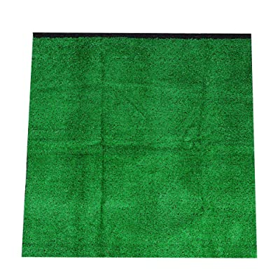 Simulation Lawn, BiuZi 1Pc PE Garden Landscape 10mm Thick Simulation Lawn Artificial Grass Turf Carpet 1m1m10mm(Emerald) : Garden & Outdoor