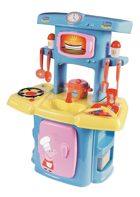 Peppa Pig - Mi cocina (Smoby 1711): Amazon.es: Juguetes y juegos