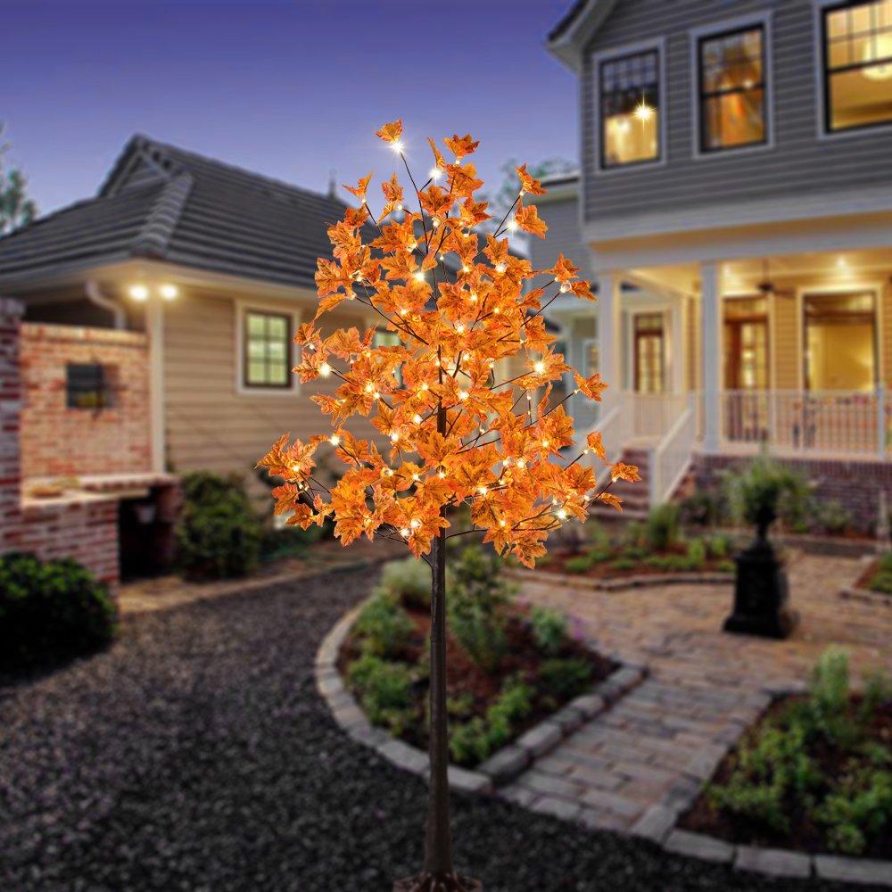 Amazoncom Lightshare LED Lighted Maple Tree