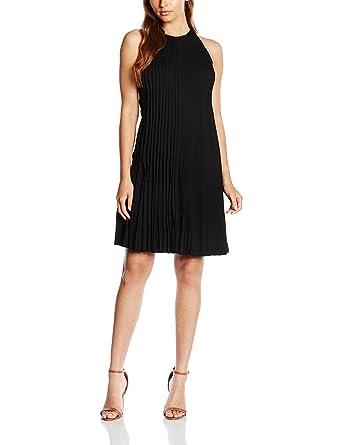 Polo Ralph Lauren SL PLTD DRS, Vestido para Mujer, Negro (Polo ...