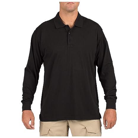 7ace45999 Amazon.com: 5.11 Tactical #72360 Tactical Polo Long Sleeve Tshirt ...
