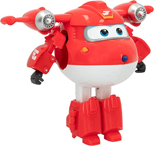 Super Wings- Juguete Jett transformable (Colorbaby 75872): Amazon.es: Juguetes y juegos