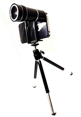 10X Optical Zoom Telescope Camera Lens For Apple iPhone 5 with Tripod