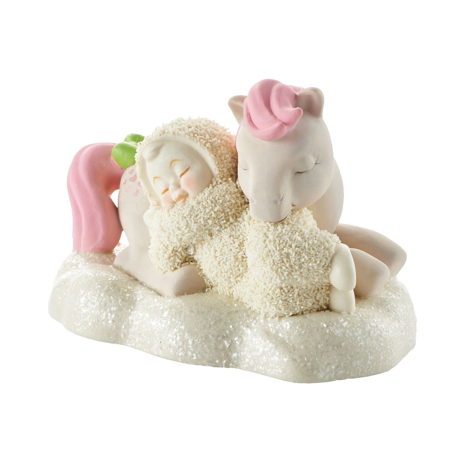 Department 56 Snowbabies Guest Collection Good Night, Snuzzle Figurine, 3.27''