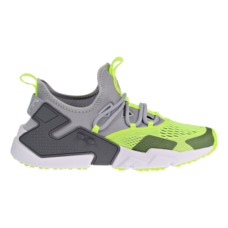 Nike Mens Air Huarache Drift Breathe Mesh Trainers  42 EU|Wolf Grey White