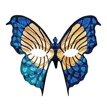 Eye Mask Mariposa Gold And Blue (máscara/ careta)