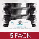 "GBC Binding Spine Cassettes, 1/2"" Diameter, 80 Sheet Capacity, ProClick Pronto, Black, 20 Spines/Cassete, 5 Cassettes/Pack (2"