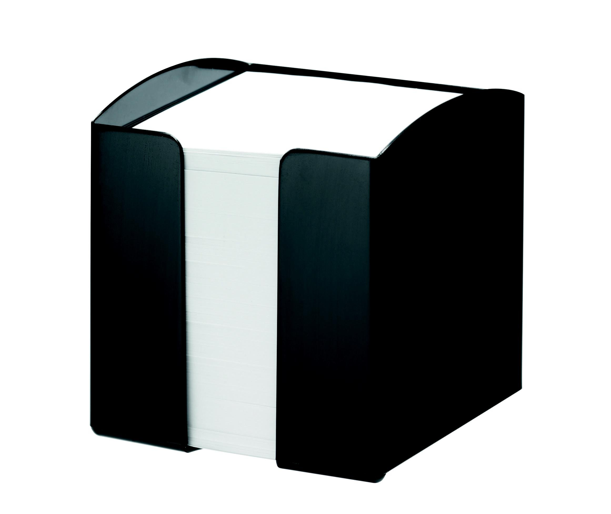 Durable Vivid Noteholder Plastic for Notes 90X90Mm Black Ref 1701682060