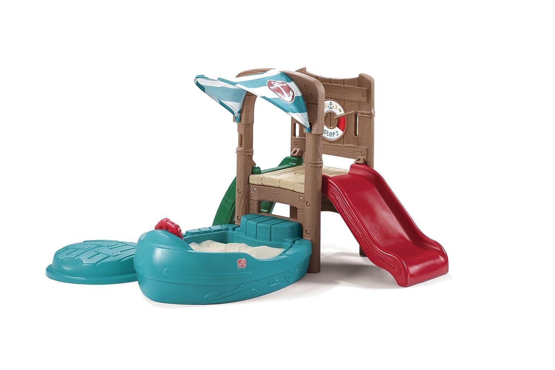 Amazon.com: Step2 Dockside Sandbox And Climber: Toys & Games