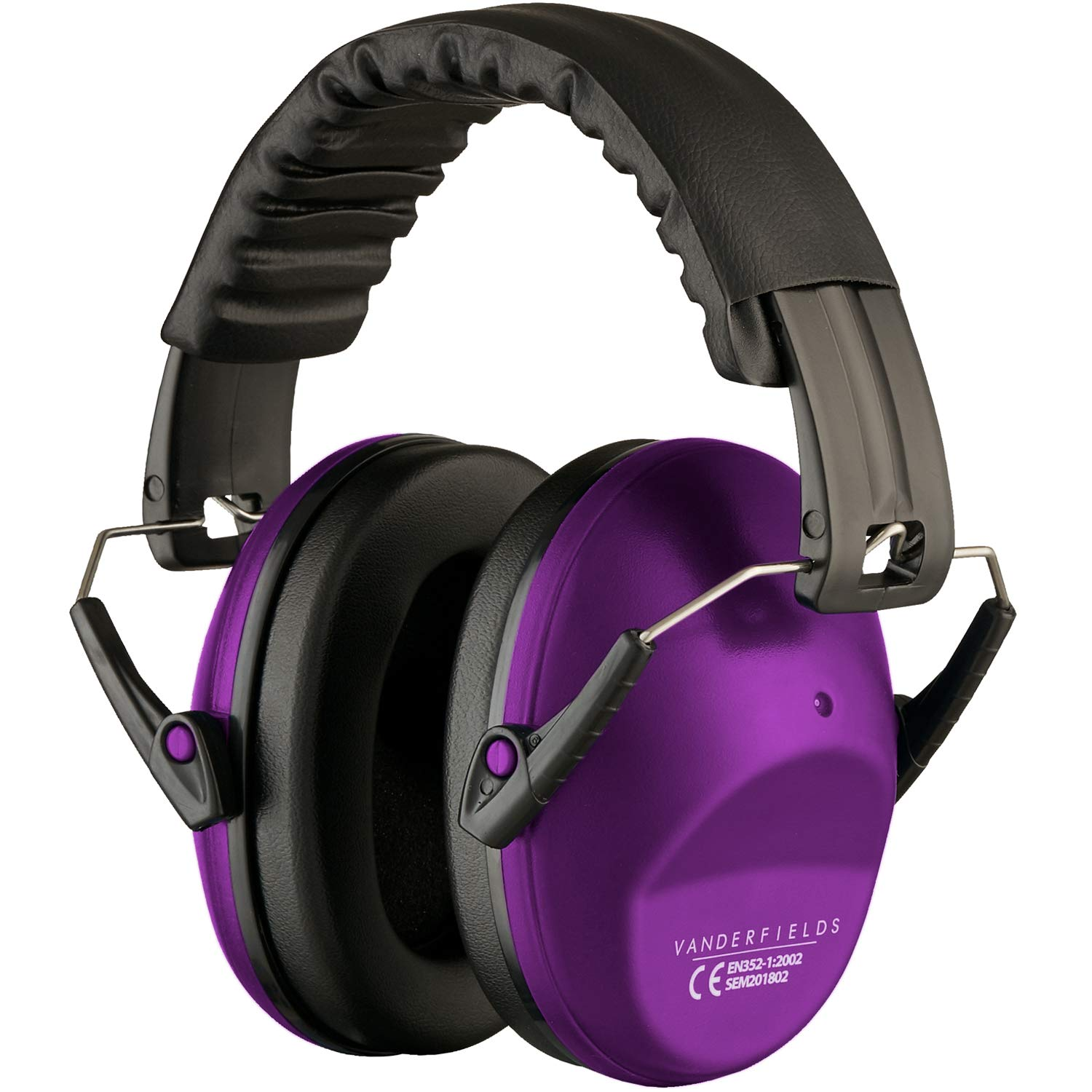 Great for Women Adults Kids Children Compact Foldable Comfortable /& Adjustable Hearing Protection Ear Defenders for Women Ear Protectors Shooting Ear Muffs