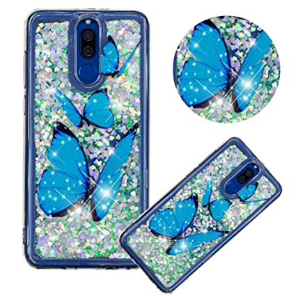 Amazon.com: Glitter Painting Quicksand Case for Huawei Mate ...