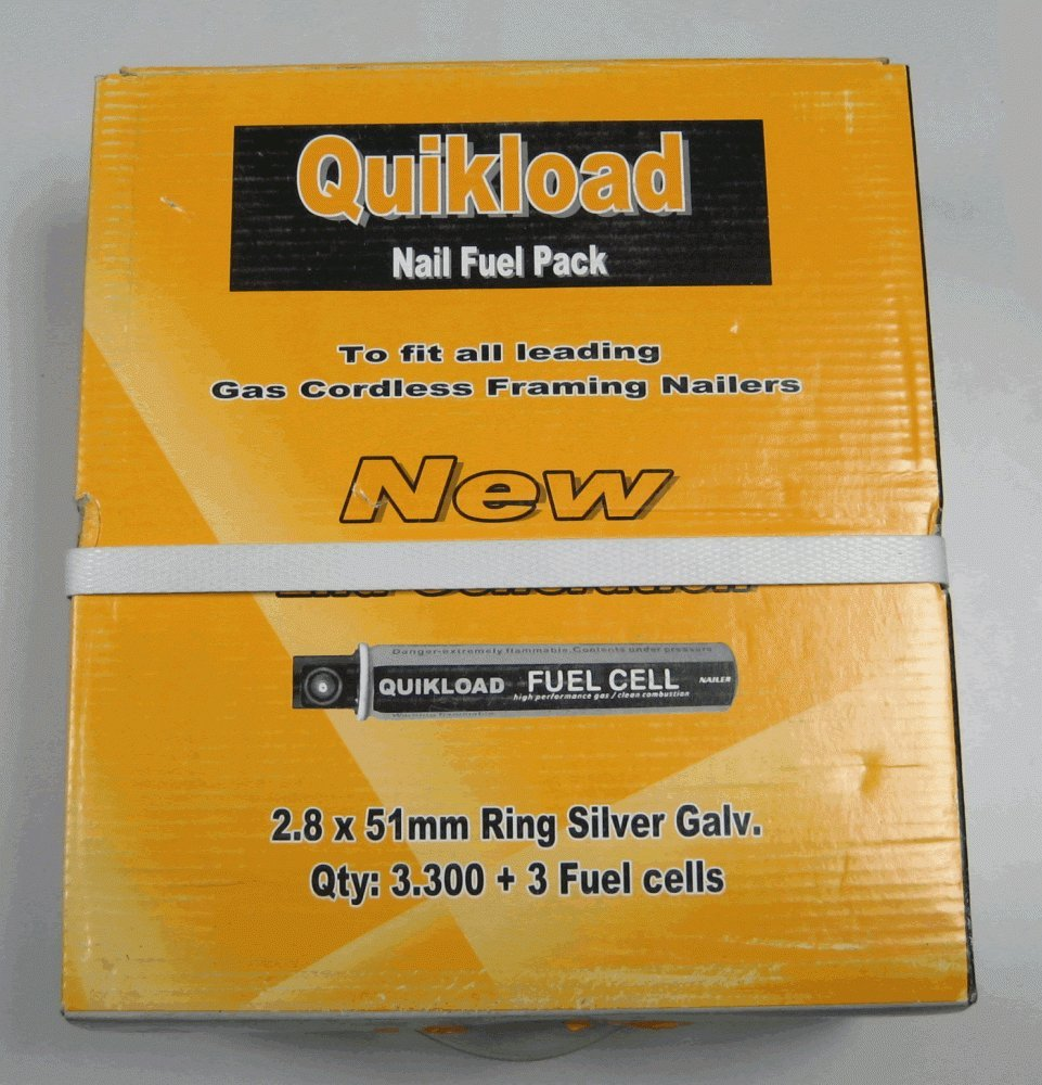 Paslode Type Equiv 1st Fix nails. 50mm, 63mm, 75mm, 90mm Galv by ...