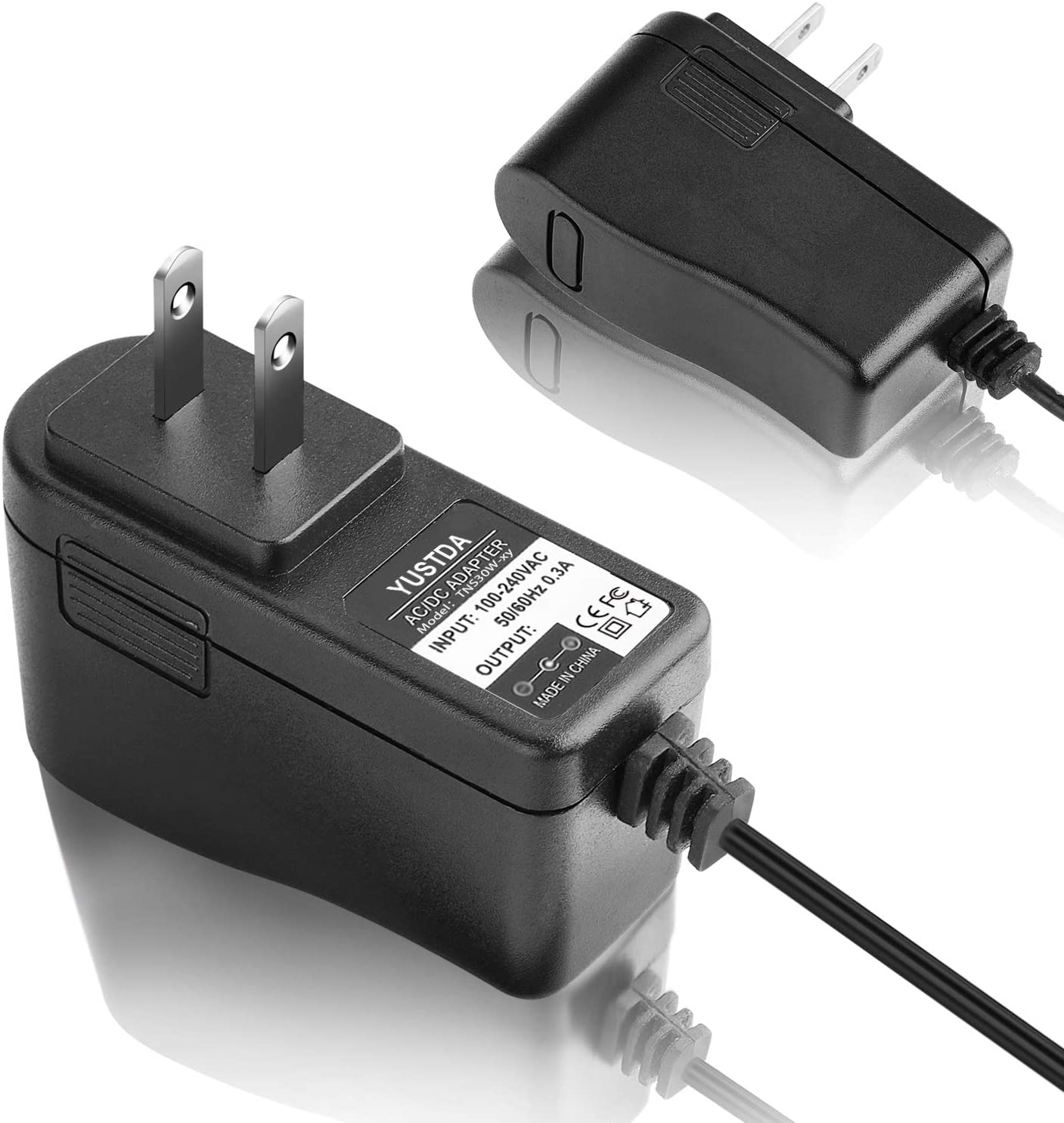 yan AC//DC Power Adapter Wall Charger for Radio Shack Realistic HTX-404 19-1140 Radio