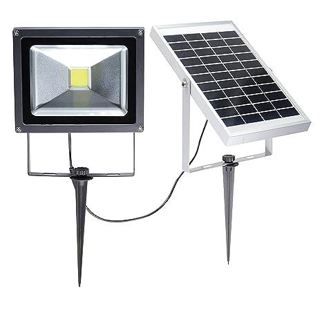 W Lite 20w Led Solar Flood Lights Outdoor Waterproof Security Lamp