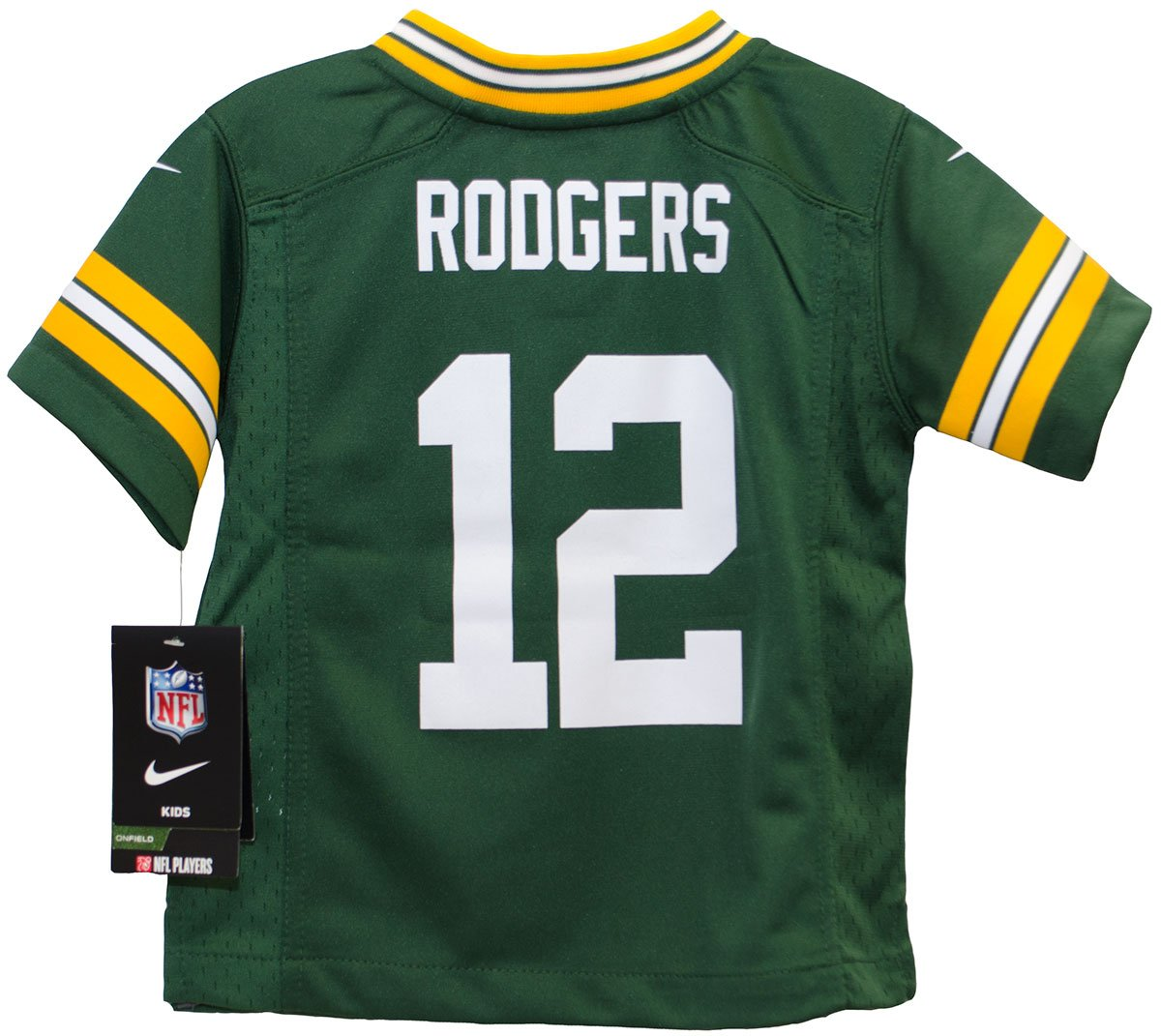 e48cbd72 Amazon.com : Aaron Rodgers Green Bay Packers Toddler Nike Game ...
