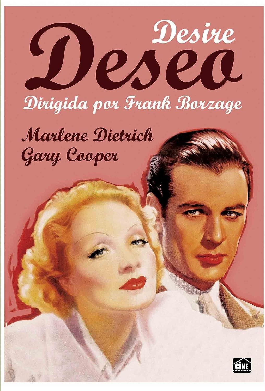 Desire Marlene Dietrich Gary Cooper movie poster