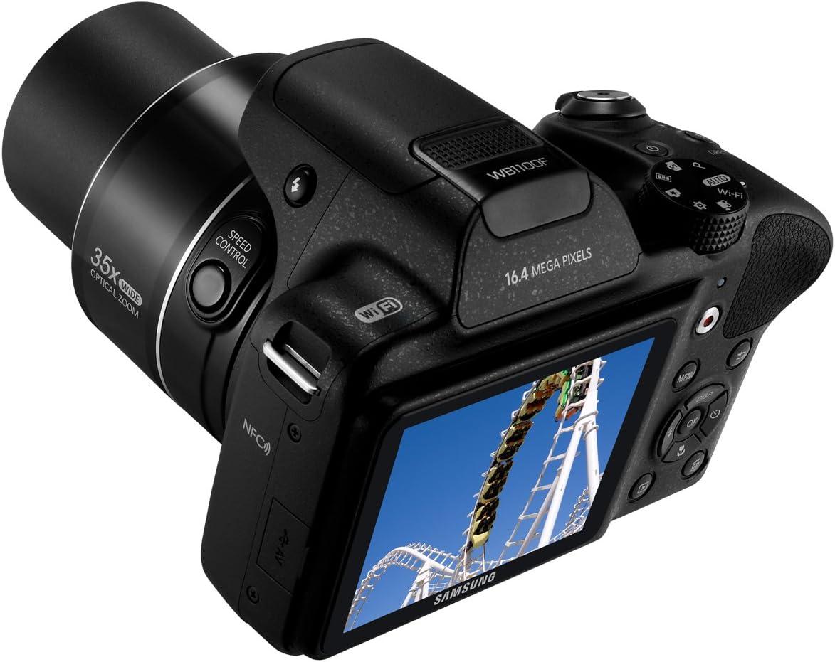 Samsung WB WB1100F Juego de cámara SLR 16,2 MP CCD 4608 x 3456 ...