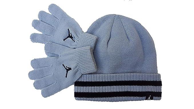 2e456193bb5 Nike Jordan Boys Winter Cuffed Beanie   Gloves Set Size   Youth 8 20  Amazon .ca  Sports   Outdoors