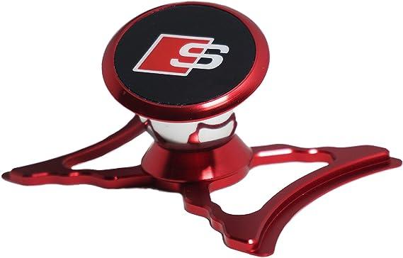 Soporte para Teléfono Celular Magnético Para AUDI A3 8 V Mobil GPS 360 Dash Mount Alu Carbono