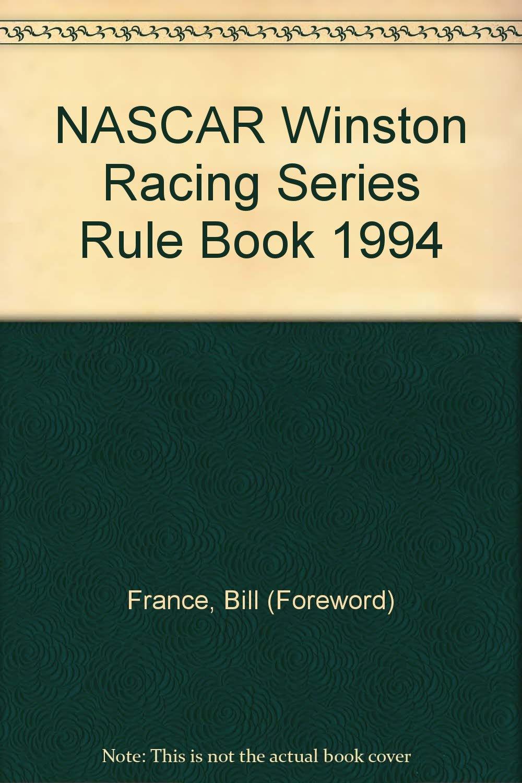 Nascar Rule Book