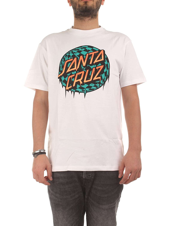 Santa Cruz T-Shirt: Check Waste Dot WH