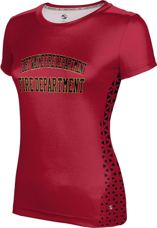 ProSphere Women's Fort Wayne Fire Department Gov-Fire-Police Geometric Tech Tee