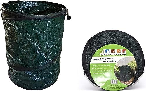 Hub - Bolsas de basura para jardín (2 unidades, 115 L, 46 x 70 cm ...