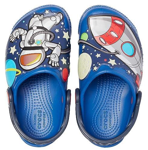 Amazon.com: Crocs Kids Fun Lab Space Explorer Light-up Clog ...
