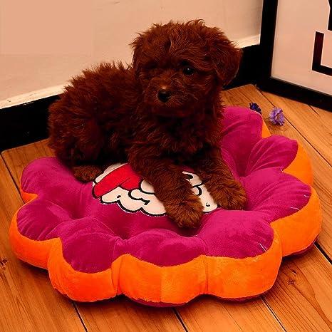 Kaxima Manta para Mascotas Paño Pet Alfombra Colorida Perro Cama Gato Nido Mat, diámetro 35cm